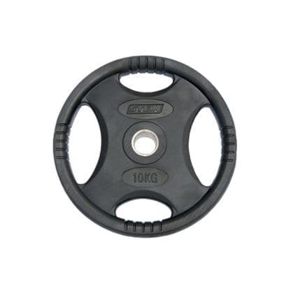 Диск Stein стальной обрезиненный 10 кг (DB6061-10)