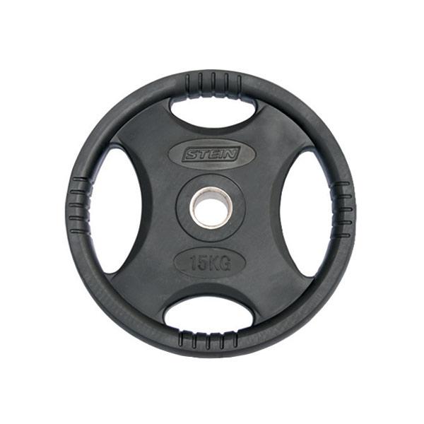 Диск Stein стальной обрезиненный 15 кг (DB6061-15)
