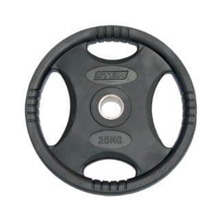 Диск Stein стальной обрезиненный 25 кг (DB6061-25)