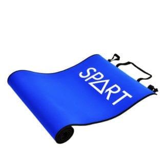 Коврик SPART (Rising) для фитнеса двухсторонний Черно-синий (EM3005)
