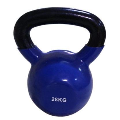 Гиря виниловая SPART (Rising) 28 кг синяя (DB2174-28)