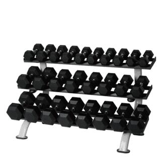 Стойка для шестигранных гантелей (12 пар) SPART Dumbbell Rack