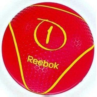 Медбол Reebok 1 кг Розовый (RAB-40121MG)