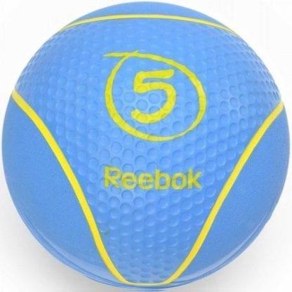 Медбол Reebok 5 кг Синий (RAB-40125CY)