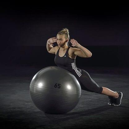 Мяч для фитнеса Adidas 65 см Grey (ADBL-13246GR)