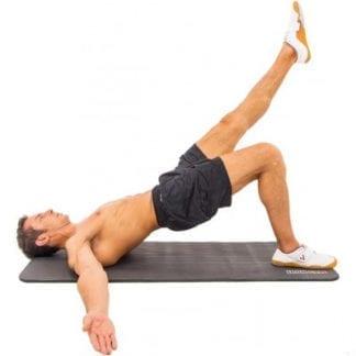Мат для фитнеса Iron Gym 183 х 61 см Черный (IG00087)
