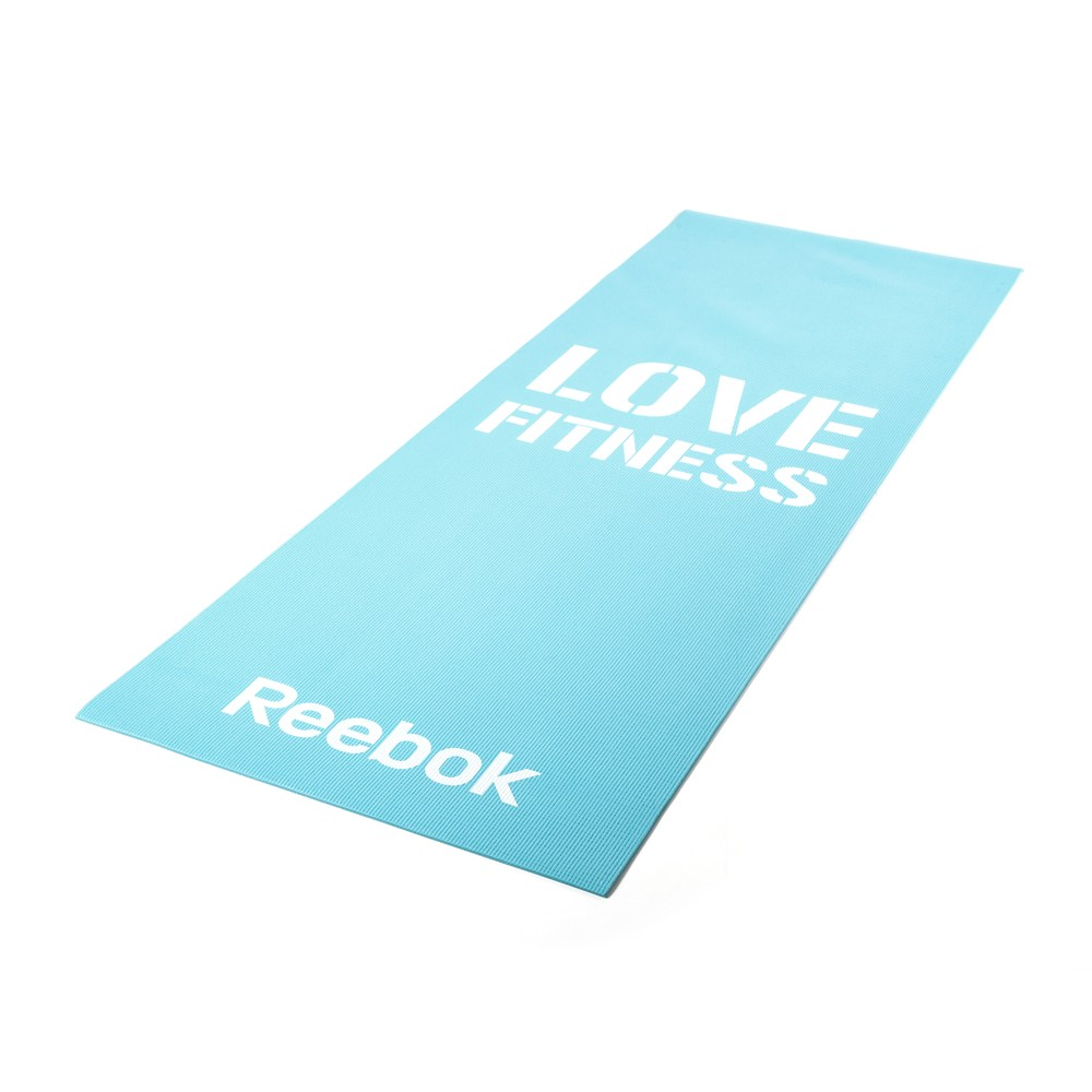 Мат для фитнеса Reebok Love Fitness Blue (RAMT-11024BLL)