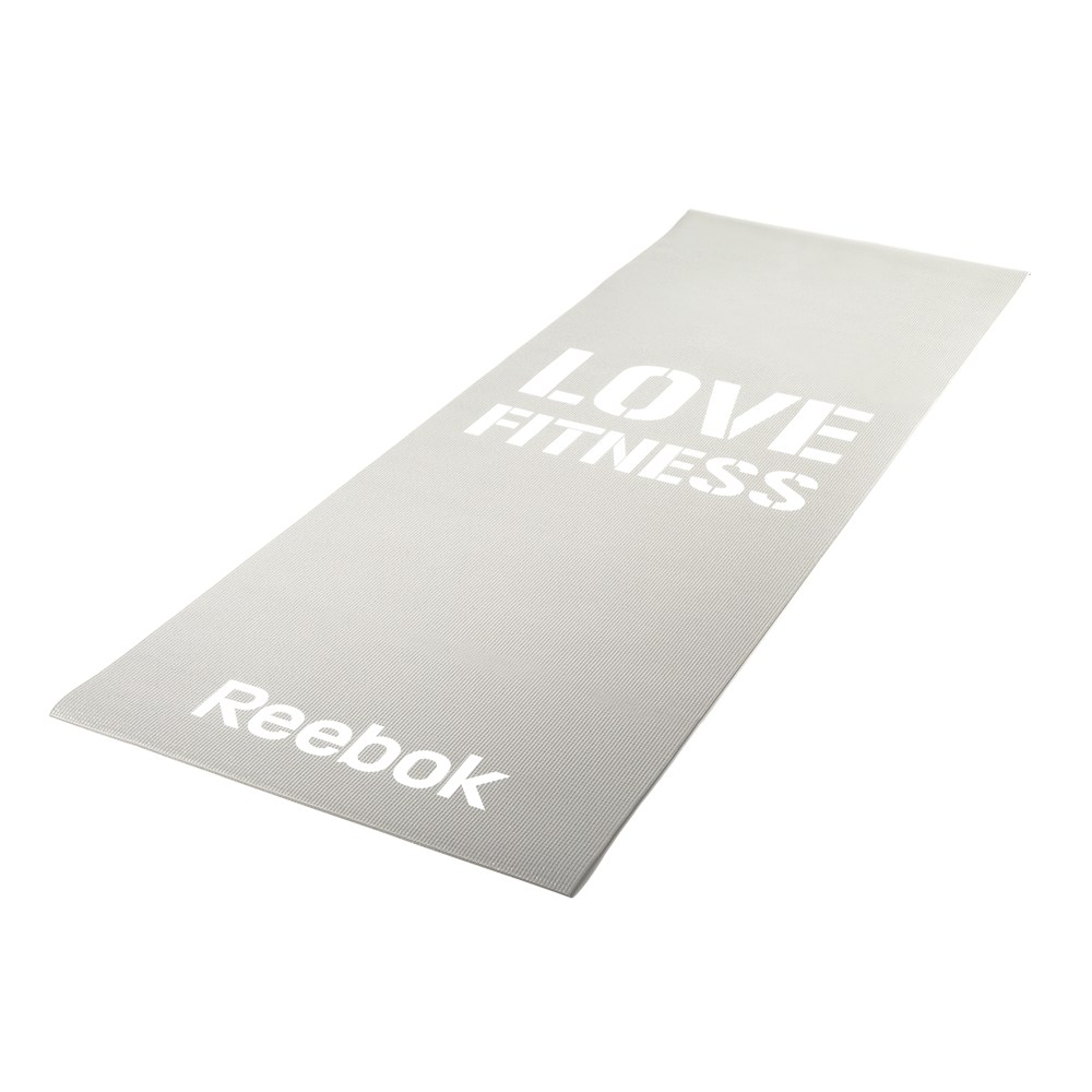 Мат для фитнеса Reebok Love Fitness Grey (RAMT-11024GRL)