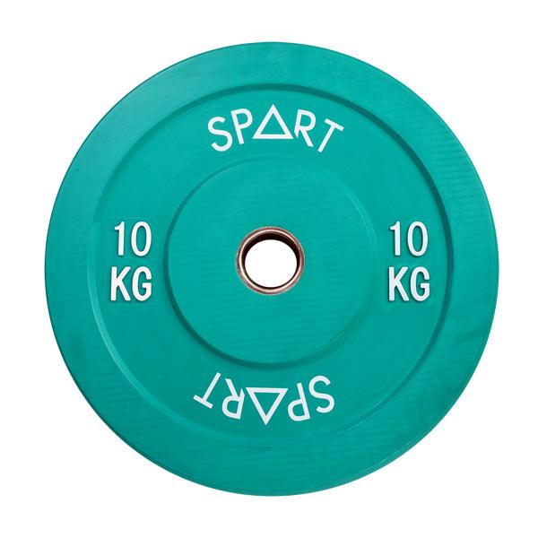 Бамперный диск Spart Bumper Plates Color 10 кг (PL42-10)