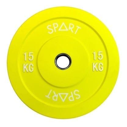 Бамперный диск Spart Bumper Plates Color 15 кг (PL42-15)