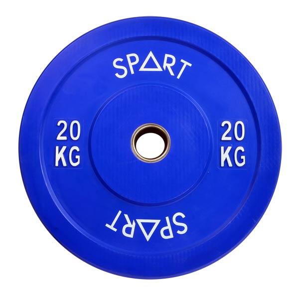Бамперный диск Spart Bumper Plates Color 20 кг (PL42-20)