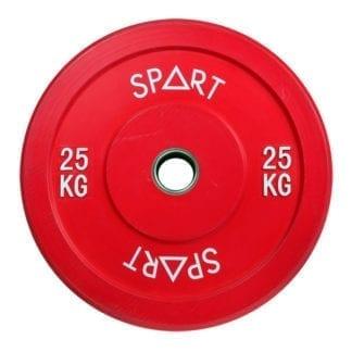 Бамперный диск Spart Bumper Plates Color 25 кг (PL42-25)