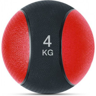 Медбол SPART (Rising) 4 кг Black-Red (MB6300-4)
