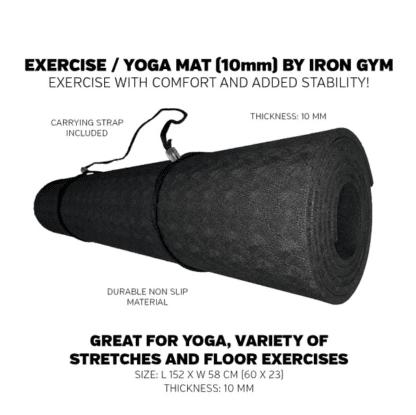 Мат для фитнеса Iron Gym 10 мм (IG00144)