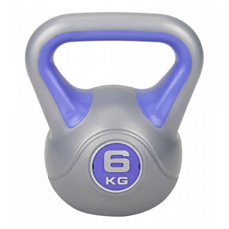 Гиря виниловая Hop-Sport 6 кг
