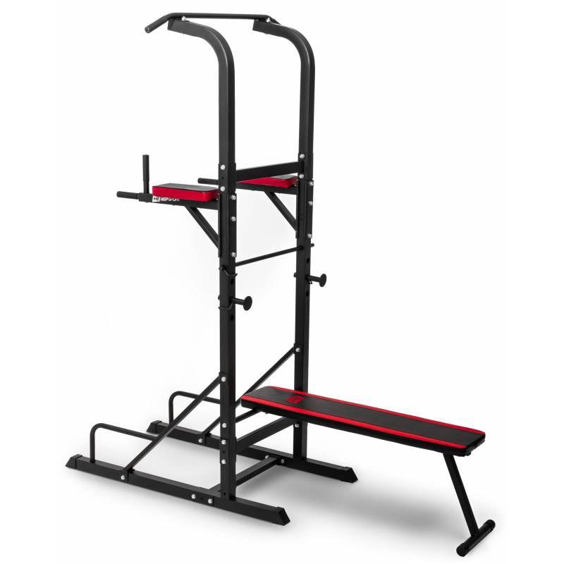 Workout станция со скамьей Hop-Sport HS-1005K