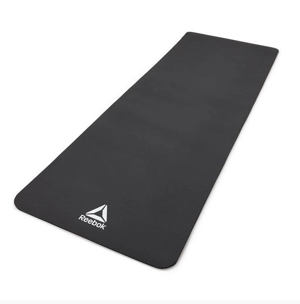 Мат для йоги Reebok black (RAMT-11014BK)