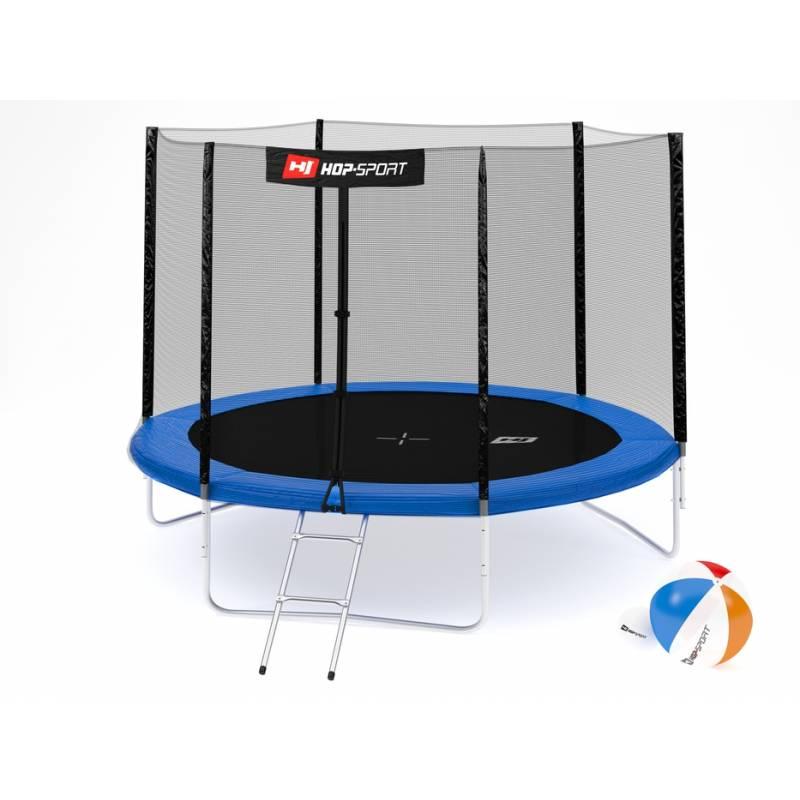 Батут Hop-Sport 10ft (305cm) с внешней сеткой 3 ноги