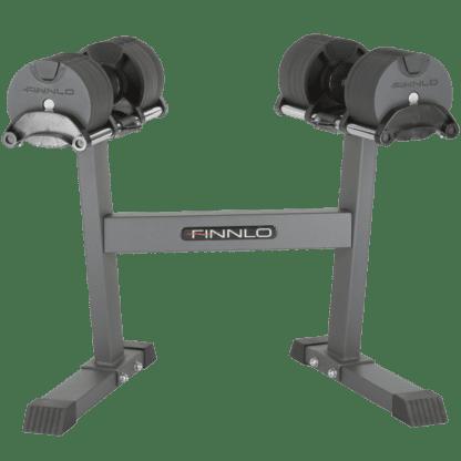 Умные гантели со стойкой Finnlo 2*20 kg Smart Lock 6772