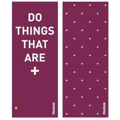 Мат для йоги Reebok Crosses Do 173 x 61 см Фиолетовый (RAYG-11040PL)
