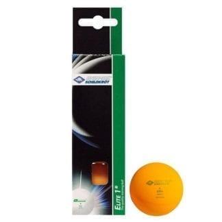 Мячи для настольного тенниса Donic Elite 1*3 шт оранжевые (608318-40+)