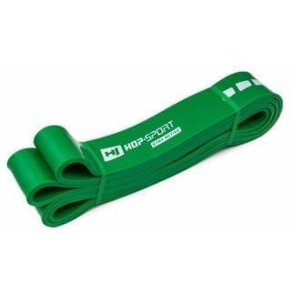 Резиновая лента для фитнеса 23-57 кг зеленая (HS-L044RR)
