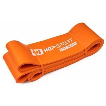 Резиновая лента для фитнеса 37-109 кг оранжевая (HS-L083RR)