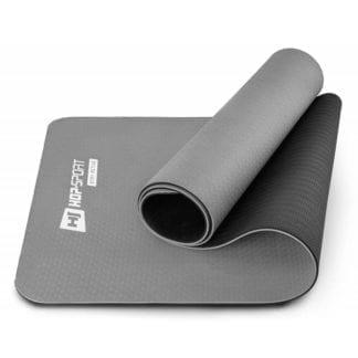 Мат для фитнеса и йоги TPE 0,6 см HS-T006GM