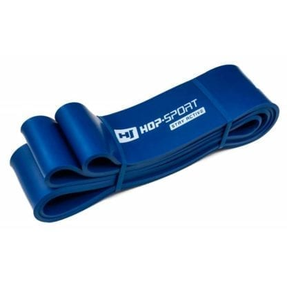 Резиновая лента для фитнеса синяя 28-80 кг (HS-L064RR)