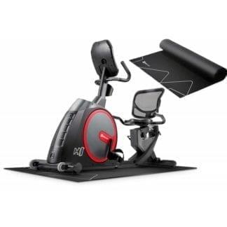 Горизонтальный велотренажер Hop-Sport Canion с телеметрическим поясом (HS-300L)