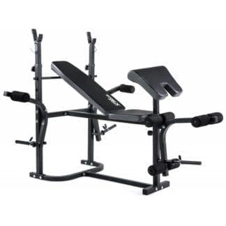 Скамья тренировочная Trex Sport TX-020 + парта Скотта + верхняя тяга
