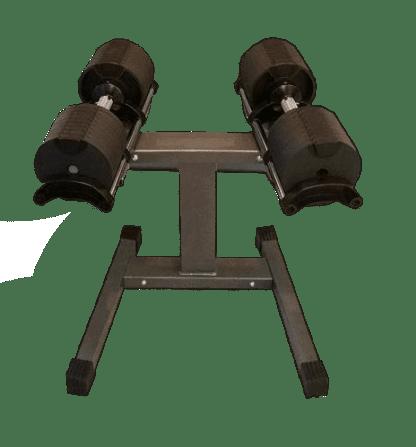 Умные гантели со стойкой NUO Flexbell 2 - 20 кг пара