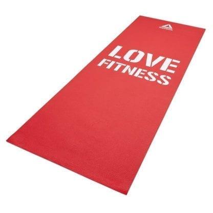 Мат для фитнеса Reebok Love Fitness RAMT-11024RDL