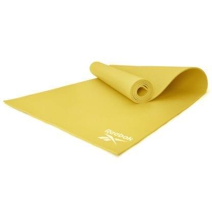 Мат для йоги Reebok RAYG-11022YL желтый