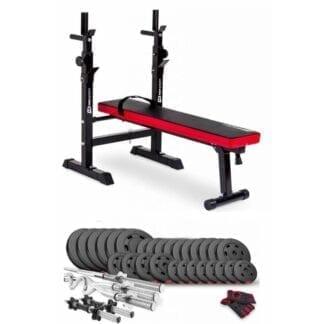 Набор Premium 160 кг с скамьей HS-1080