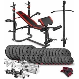 Набор Premium 160 кг со скамьей HS-1065