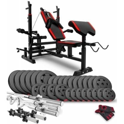 Набор Premium 160 кг со скамьей HS-1075
