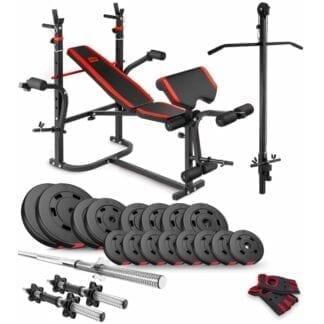 Набор Premium 60 кг с скамьей HS-1065