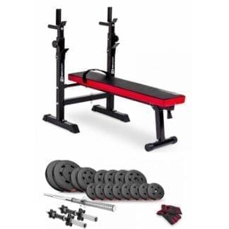 Набор Premium 60 кг с скамьей HS-1080
