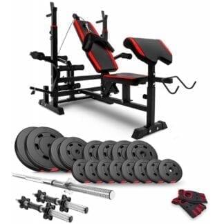 Набор Premium 60 кг со скамьей HS-1075