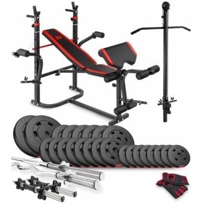 Набор Premium 94 кг со скамьей HS-1065