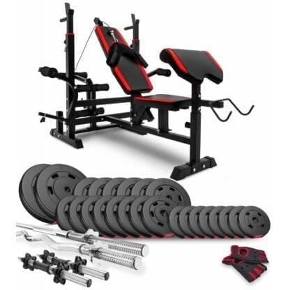 Набор Premium 94 кг со скамьей HS-1075