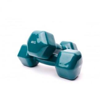 Гантели виниловые 4 кг Fitnessport (VDD-01-4k)