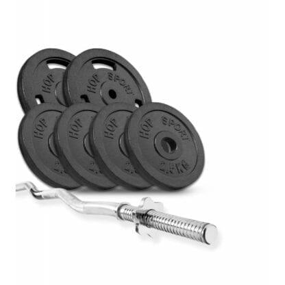 Набор Hop-Sport Strong штанга 28 кг
