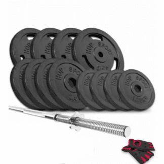 Набор Hop-Sport Strong штанга 29 кг
