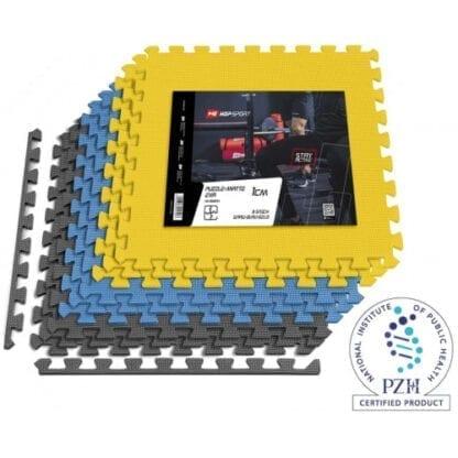 Мат-пазл Hop-Sport EVA 1cm HS-A010PM - 9 частей