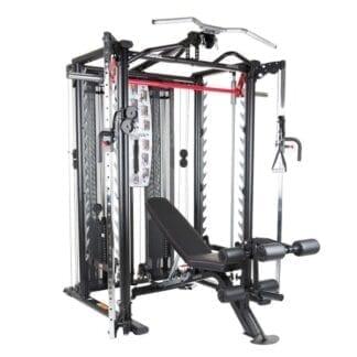 Кроссовер со скамьей Inspire SCS Smith Cage System 3643