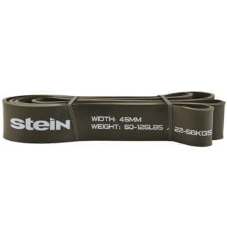 Резиновая лента для фитнеса черная Stein 45мм (LKC-941-45)