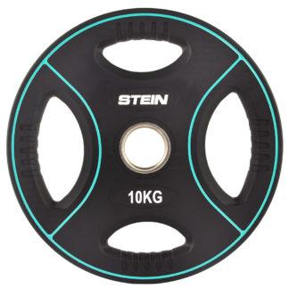 Диск полиуретановый черный Stein 10 кг