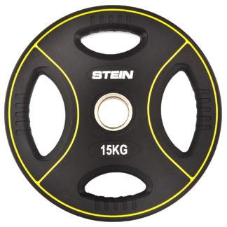 Диск полиуретановый черный Stein 15 кг